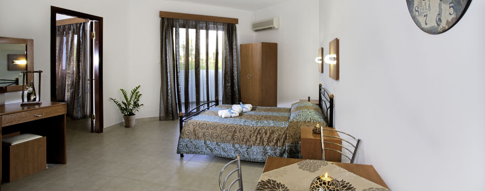 Our studios and apartments can welcome from 1 to 6 persons